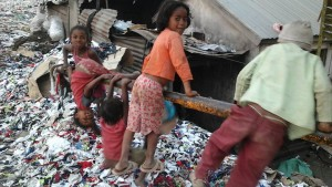 Precious Children at the Dump
